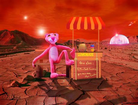Mash Up Challenge: Pink Panther on Mars