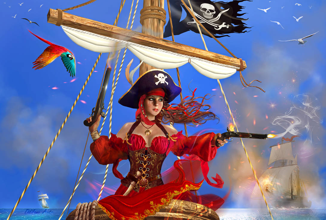 Angelique, Pirate Queen of the South Seas