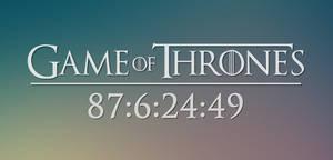 Game of Thrones Season 8 Countdown by Slim08151