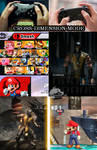 Mortal Kombat X vs Super Smash Bros 4 by Vitor-Aizen