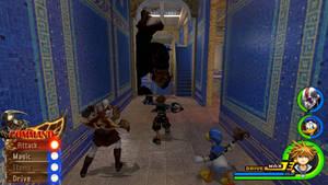 Kingdom Hearts - God of War World by Vitor-Aizen