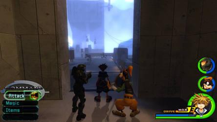 Kingdom Hearts - Halo World by Vitor-Aizen