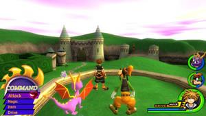 Kingdom Hearts - Spyro World
