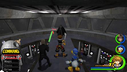 Kingdom Hearts - Star Wars World by Vitor-Aizen