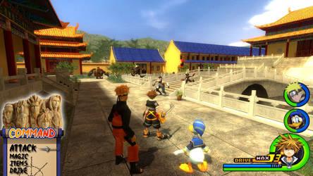 Kingdom Hearts - Naruto World by Vitor-Aizen