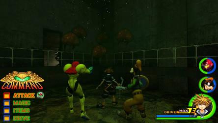 Kingdom Hearts - Metroid World by Vitor-Aizen