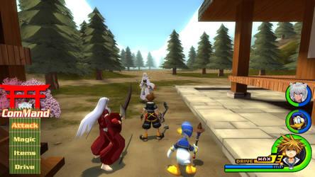 Kingdom Hearts - InuYasha World by Vitor-Aizen