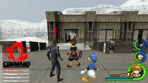 Kingdom Hearts - Metal Gear Solid World