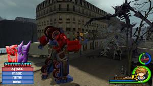 Kingdom Hearts - Transformers World