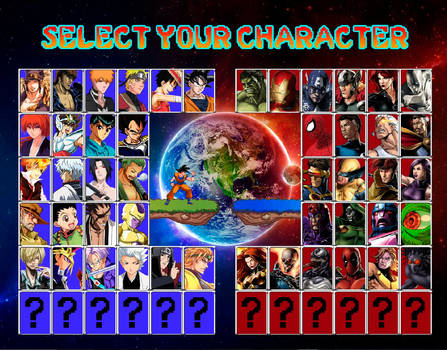 Shonen Jump vs Marvel - Interactive by Vitor-Aizen