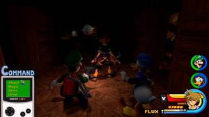 Kingdom Hearts - Luigi's Mansion World