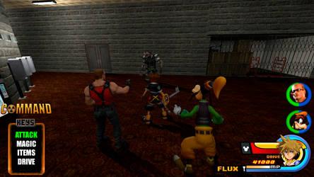 Kingdom Hearts - Duke Nukem World