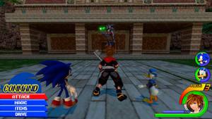 Kingdom Hearts - Modern Sonic World