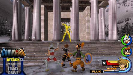 Kingdom Hearts - Saint Seiya World