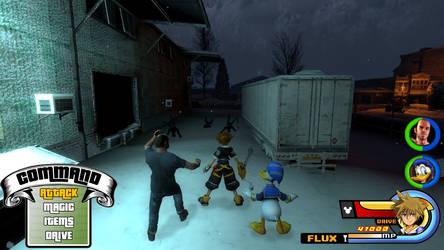 Kingdom Hearts - Grand Theft Auto V World
