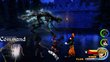 Kingdom Hearts - Bloodborne World