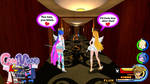 Kingdom Hearts - Panty and Stocking World by Vitor-Aizen