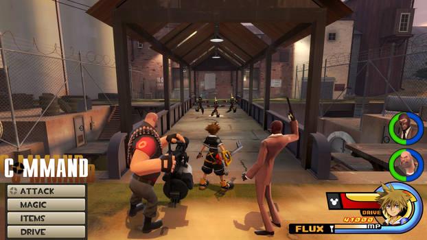 Kingdom Hearts - Team Fortress World