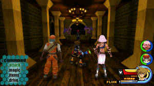 Kingdom Hearts - .hack World by Vitor-Aizen