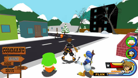 Kingdom Hearts - South Park World
