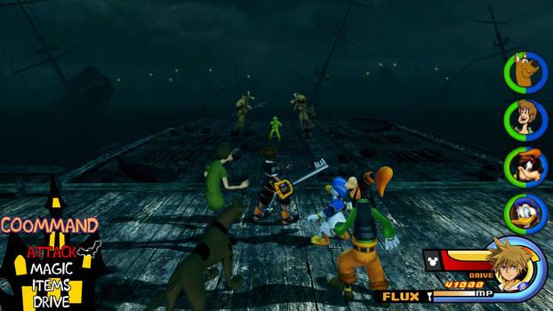 Kingdom Hearts - Scooby-Doo World by Vitor-Aizen