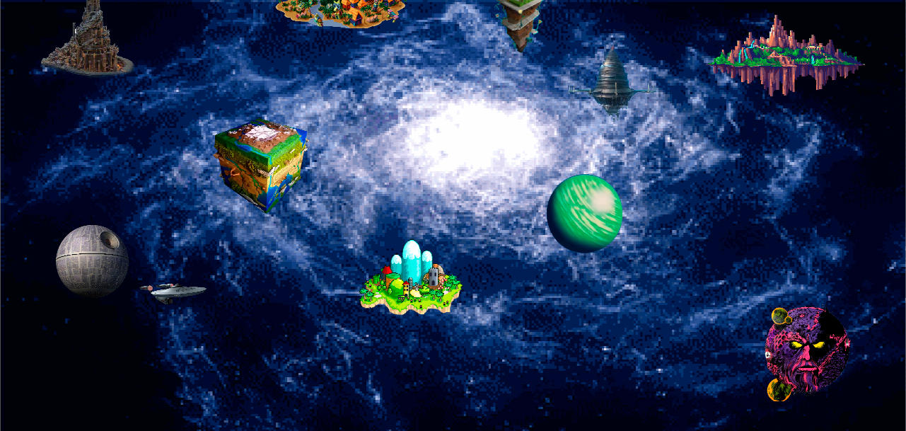 Kingdom Hearts - My World Map by Vitor-Aizen on DeviantArt