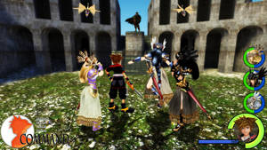 Kingdom Hearts - Valkyrie Profile 2 World