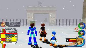 Kingdom Hearts - Mega Man Legends World by Vitor-Aizen