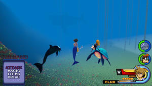 Kingdom Hearts - Ecco the Dolphin World by Vitor-Aizen