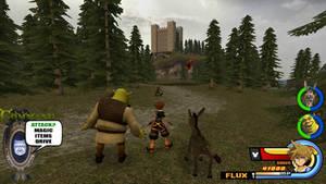 Kingdom Hearts - Shrek World by Vitor-Aizen
