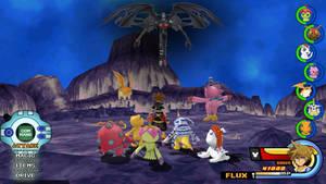 Kingdom Hearts - Digimon Adventure World