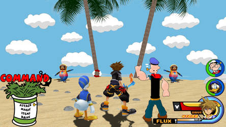 Kingdom Hearts - Popeye World