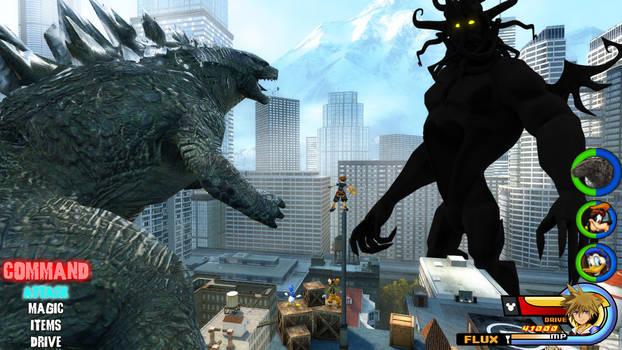 Kingdom Hearts - Godzilla World