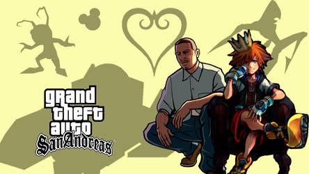 Kingdom Hearts - GTA: San Andreas World