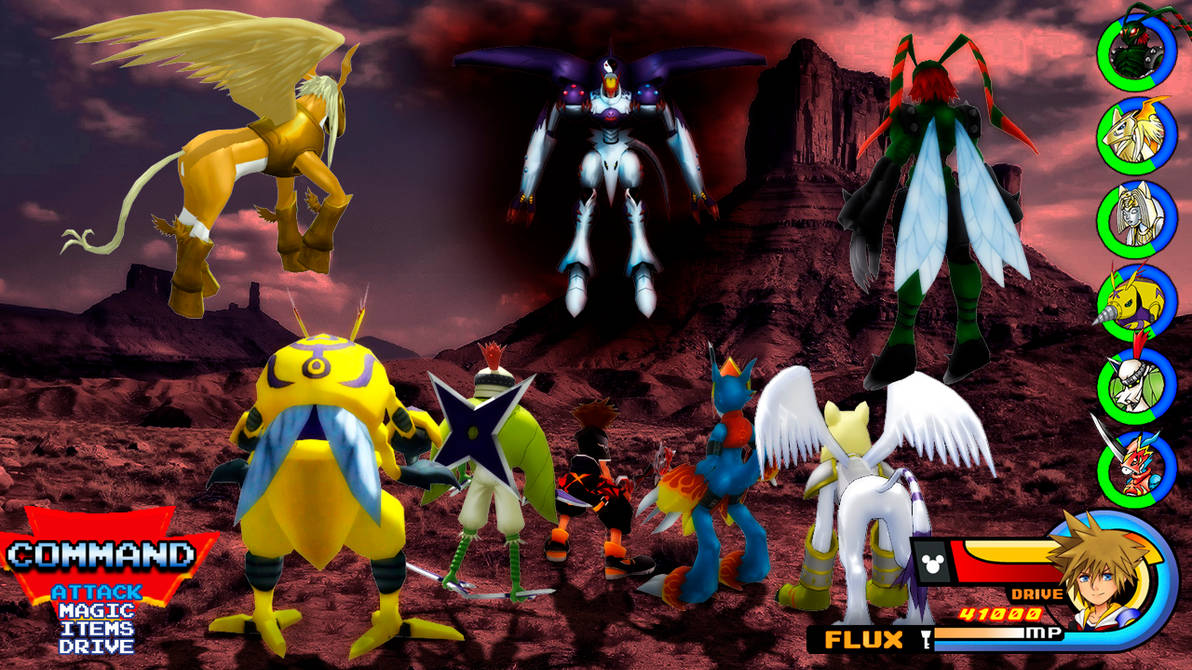 Kingdom Hearts - Digimon Adventure 02 World
