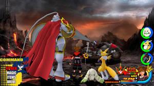 Kingdom Hearts - Digimon Tamers World