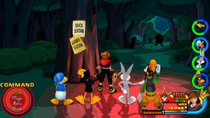 Kingdom Hearts - Looney Tunes World by Vitor-Aizen