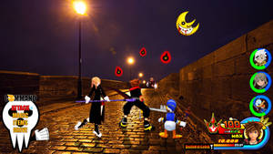 Kingdom Hearts - Soul Eater World by Vitor-Aizen