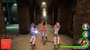 Kingdom Hearts - To Aru Kagaku no Railgun World by Vitor-Aizen