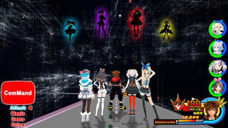 Kingdom Hearts - Virtual Youtuber World by Vitor-Aizen