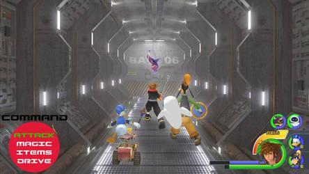 Kingdom Hearts - WALL-E World by Vitor-Aizen