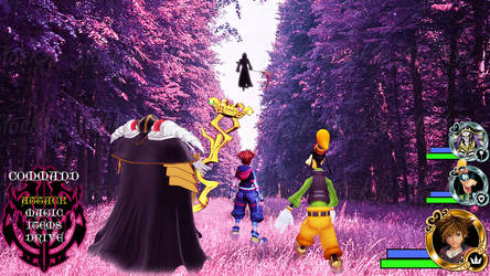Kingdom Hearts - Overlord World by Vitor-Aizen