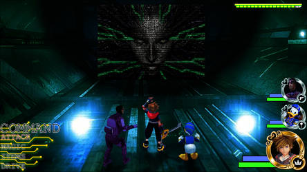 Kingdom Hearts - System Shock World by Vitor-Aizen