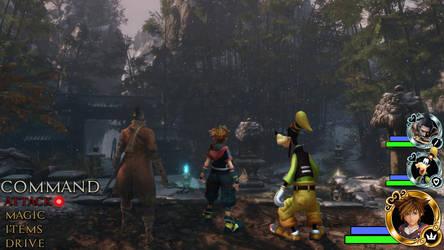 Kingdom Hearts - Sekiro World