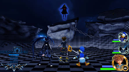 Kingdom Hearts - Black Rock Shooter World by Vitor-Aizen