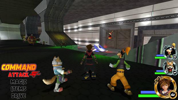Kingdom Hearts - Star Fox World
