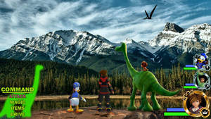Kingdom Hearts - The Good Dinosaur World
