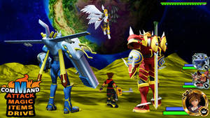 Kingdom Hearts - Digimon Frontier World