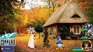 Kingdom Hearts - Final Fantasy III World