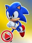 Classic Sonic - Running Animation